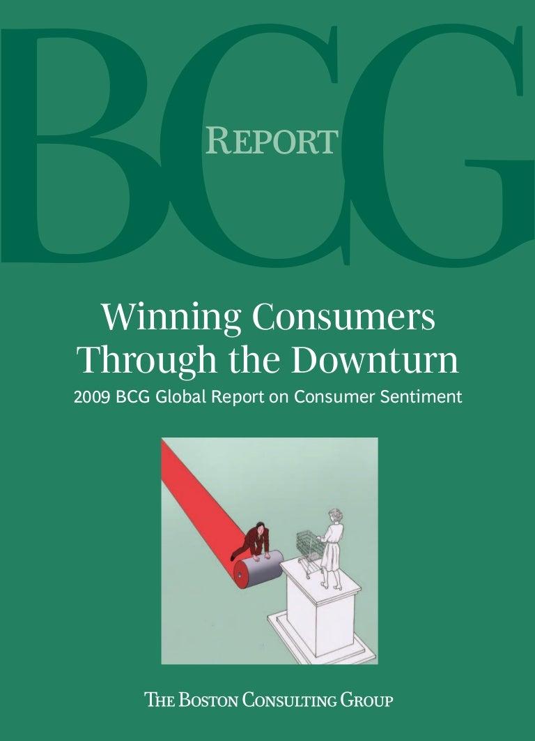 Bcg Winning Consumers Through Downturn Apr 2009