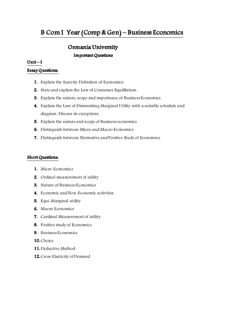 business multiple choice questions