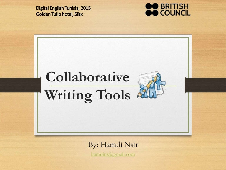 collaborative writing tool Examining collaborative and individual writing processes stephen mcleod university of phoenix collaborative writing is a tool that is being utilized more often in the.