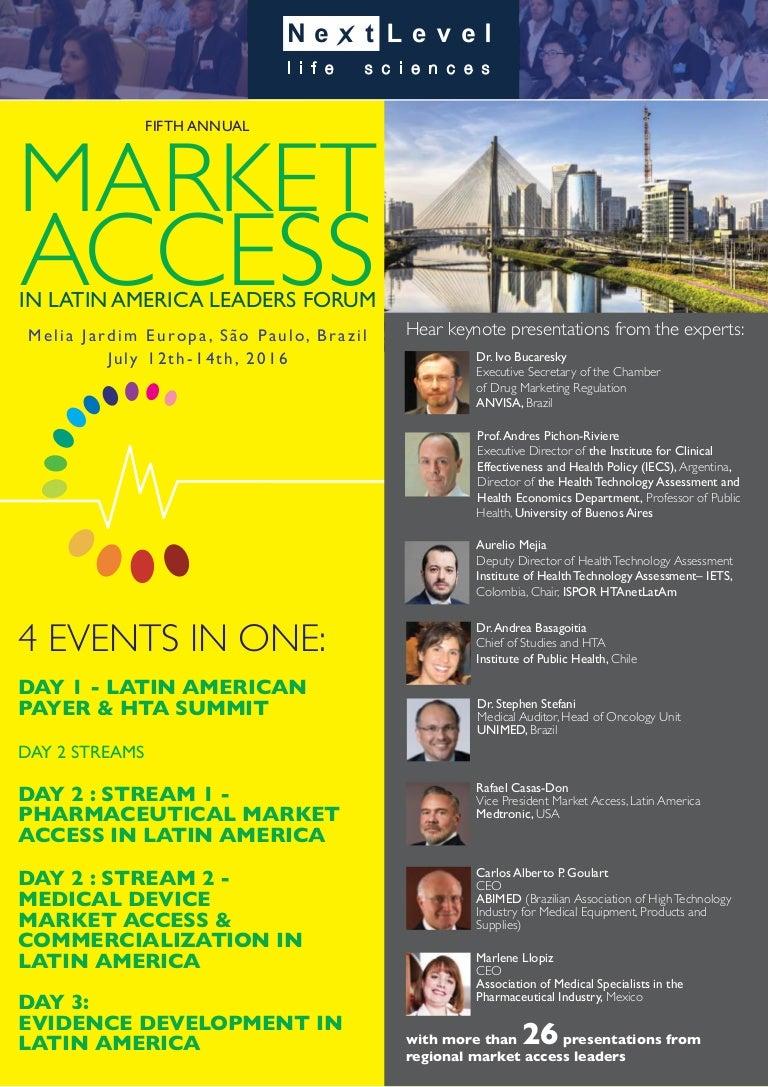 market access in latin america leaders forum agenda