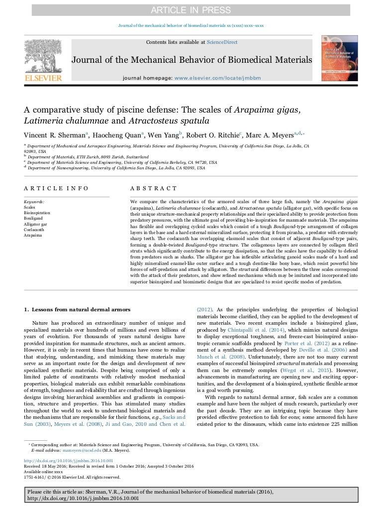 Scale Per Piscine.A Comparative Study Of Piscine Defense The Scales Of