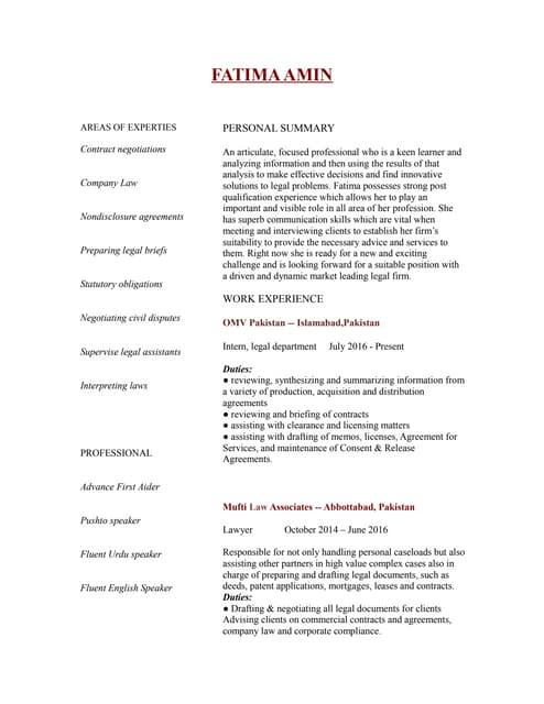 Fatima Er-Rafia: My resume visualized...