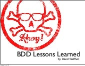 Bdd lessons-learned