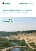 Better results with Biodiversity in Quarries - 10 key factors