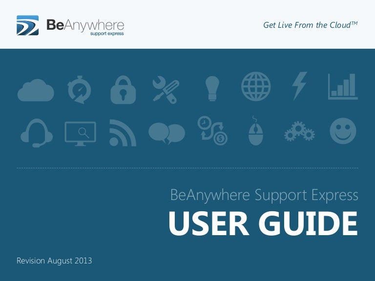 Beanywhere Support Express - User Guide ( English)