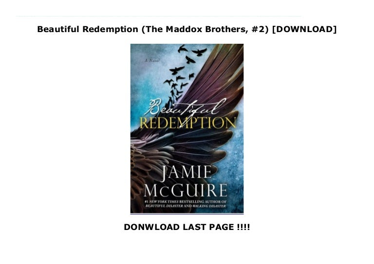 Beautiful Redemption The Maddox Brothers 2 By Jamie Mcguire