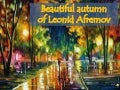 Beautiful autumn of Leonid Afremov