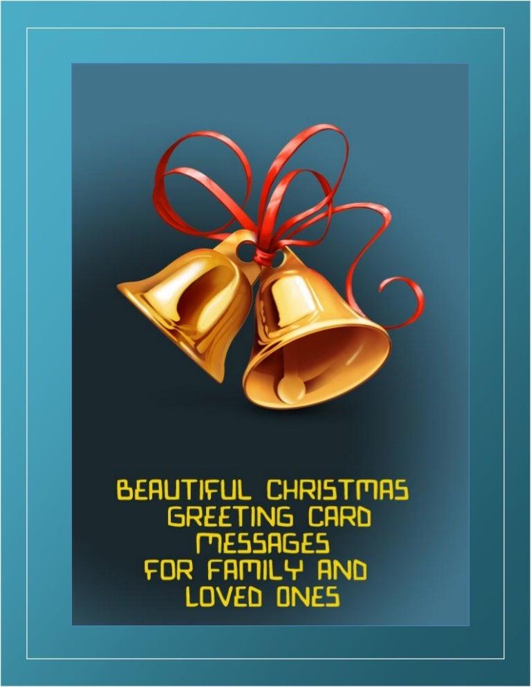 Christmas Card Greeting For Boss