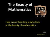 Beauty of Mathematics
