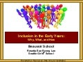 Beauvoir Inclusion in the Early Years Parents