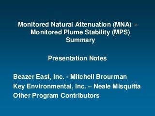 Beazer Mps Presentation Agency Support