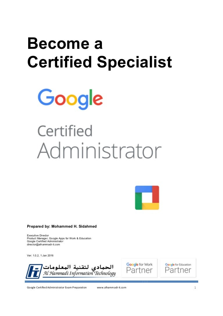 Google apps certified administrator xflitez Image collections