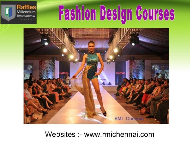 Become A Successful Fashion Designer With Rmi Chennai