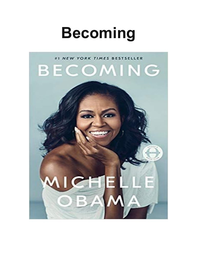 Becoming by Michelle Obama, read by Michelle Obama by PRH Audio | Free Listening on SoundCloud