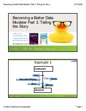 Geek Sync | Becoming a Better Data Modeler: Part 3 (Telling the Story)