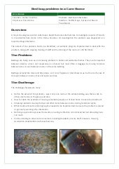 Bed bug-case-study