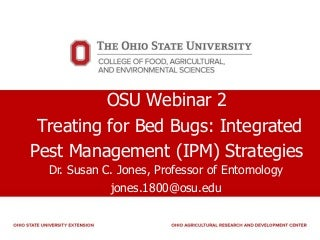 Treating for Bed Bugs: Integrated Pest