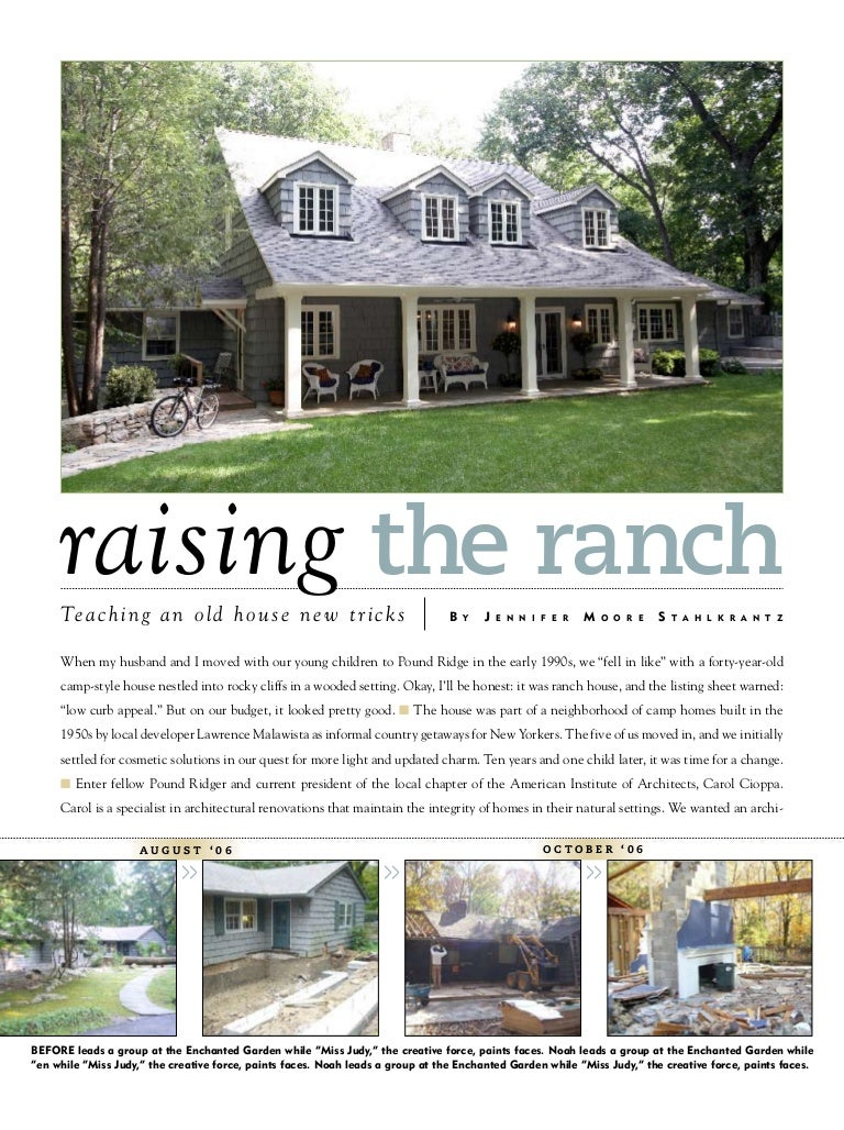 Raising the Ranch Story on