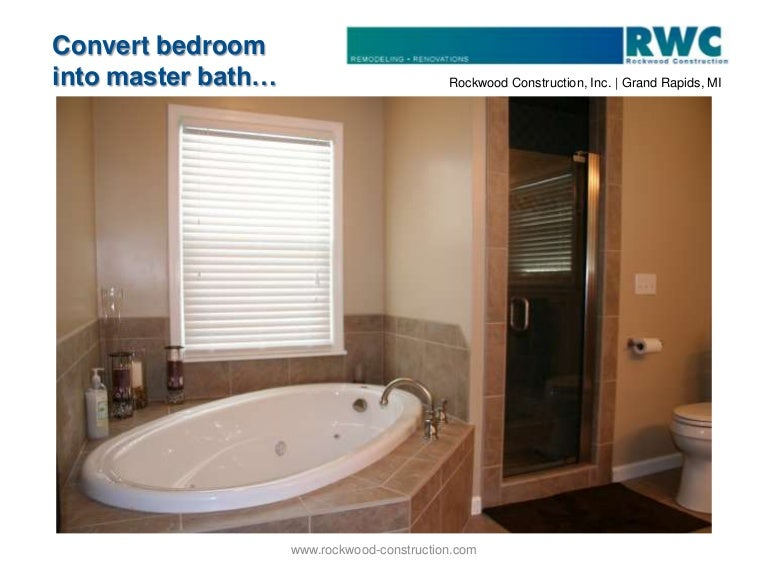 Bathroom Remodeling Grand Rapids Mi convert bedroom into master bath | bath remodel | grand rapids, mi