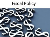 Be fiscal policy