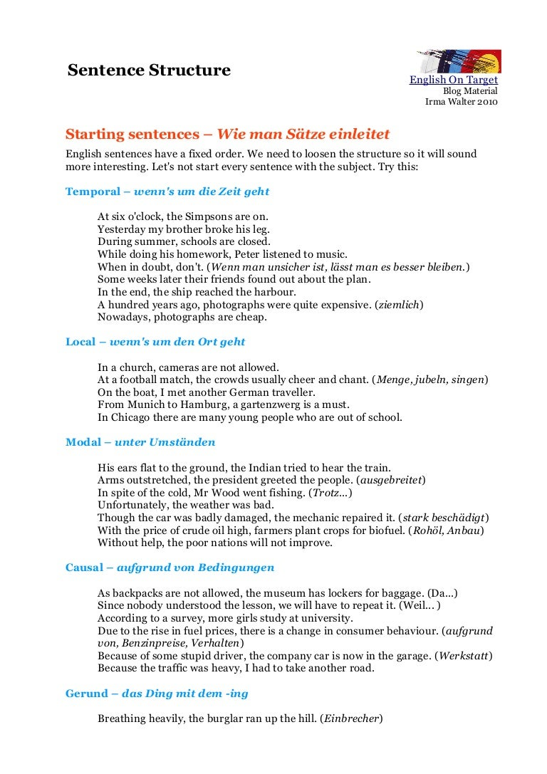 Beginning sentences m4hsunfo