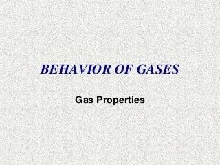 'gases' on SlideShare