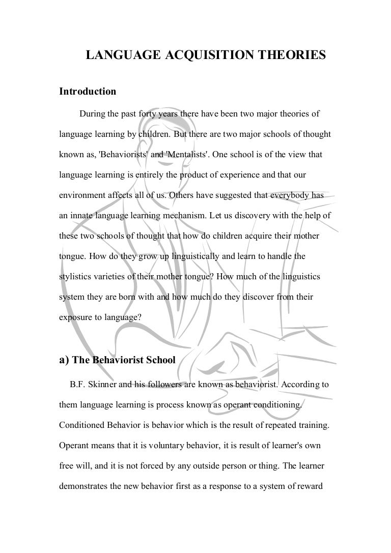 essay on behaviorism theory  essay on behaviorism theory