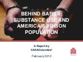 Behind Bars II: Substance Use and America's Prison Population
