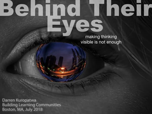 Behind Their Eyes v1