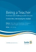 Being a Teacher: Section One - Introducing the module