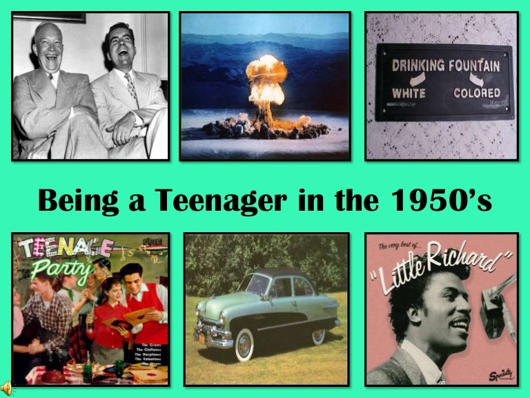 Culture 1950s teen How Elvis