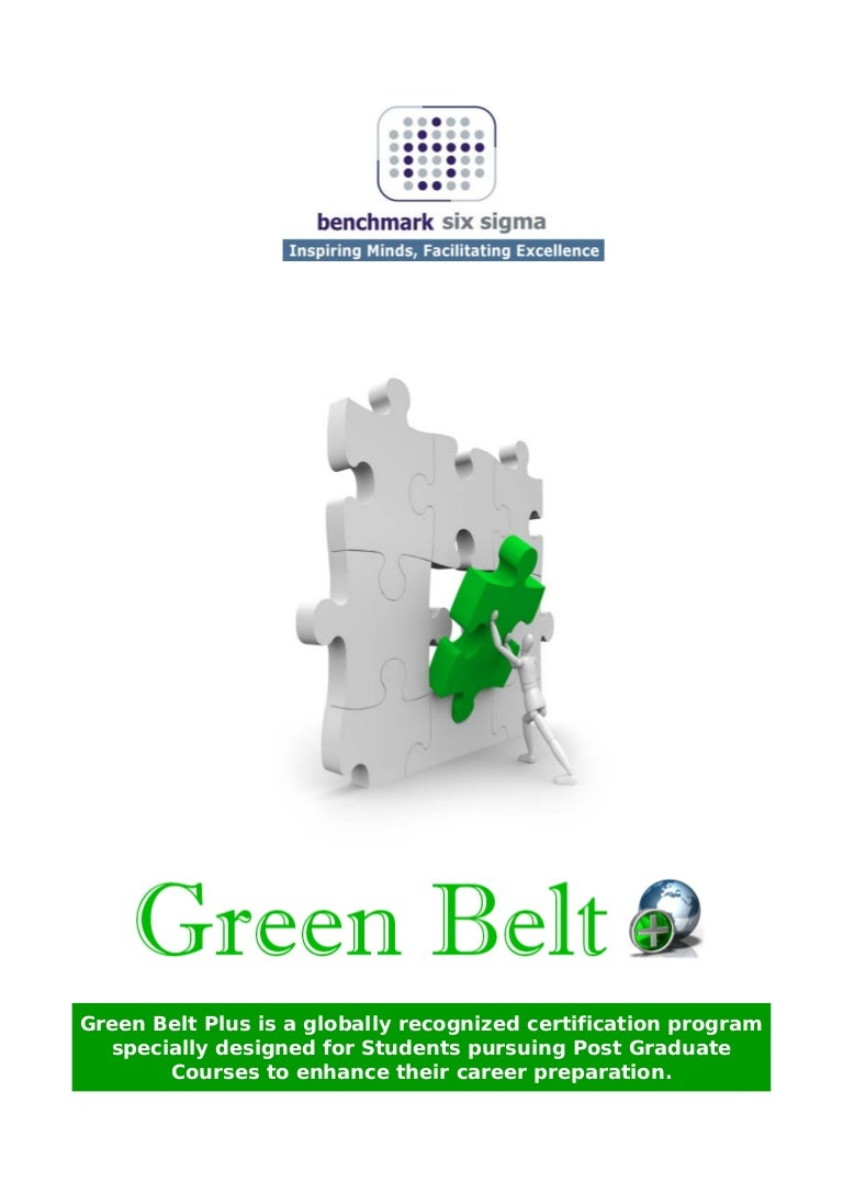 Benchmark six sigma student brochure 1betcityfo Image collections