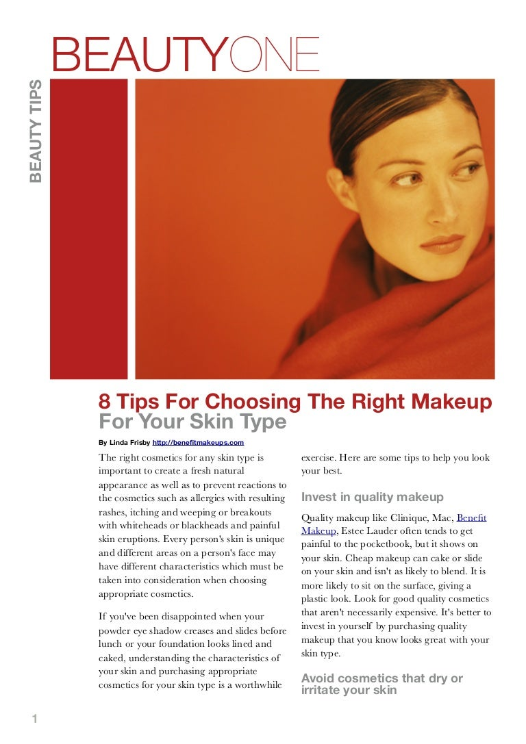 Makeup Tips for Your Skin Type 100