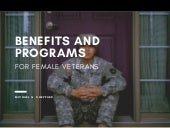 Benefits and Programs for Female Veterans | Michael G. Sheppard
