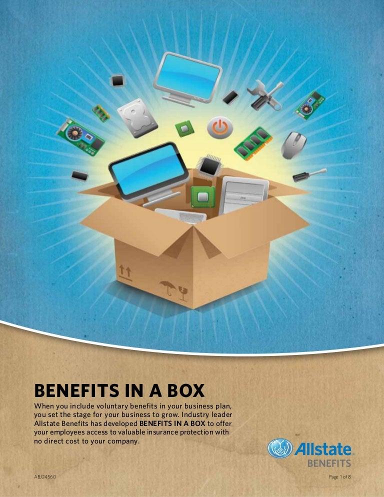 Allstate Employee Benefits >> Benefits In A Box Allstate Benefits