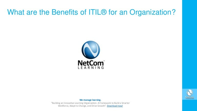 What Are The Benefits Of Itil For An Organization