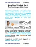 Benefits of medical_chart_review_support_services