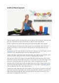 Benefits of pilates equipment