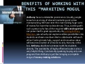 """Benefits of Working with this """"Marketing Mogul"""