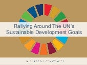 Aligning with the UN Sustainable Development Goals #SDGs