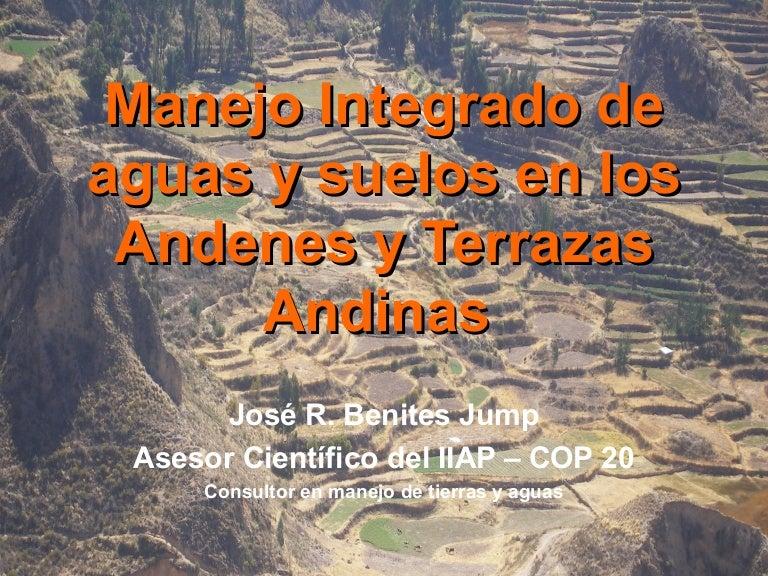 Manejo Integrado De Aguas Y Suelos En Los Andenes Y Terrazas