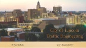 2017 MATC Intern Program - Ben Trofholz - City of Lincoln