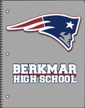 Berkmar High School Gray Spiral-bond Notebook
