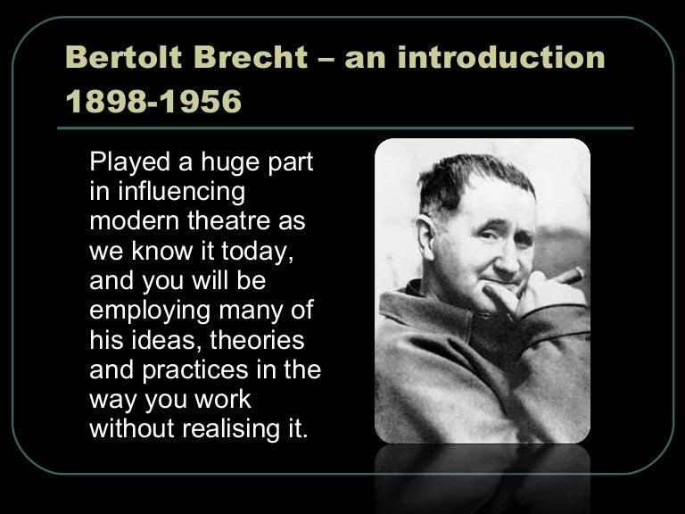 Bertolt brecht alienation effect essay outline