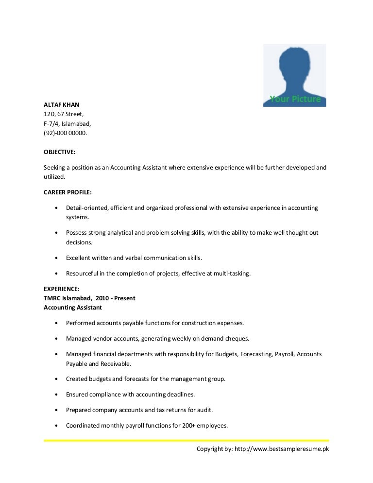 Best accounting-resume-sample