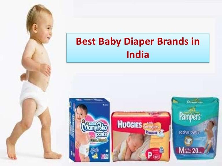 Best Baby Diaper Brands in India