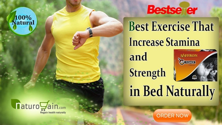 Best Exercise That Increase Stamina and Strength in Bed