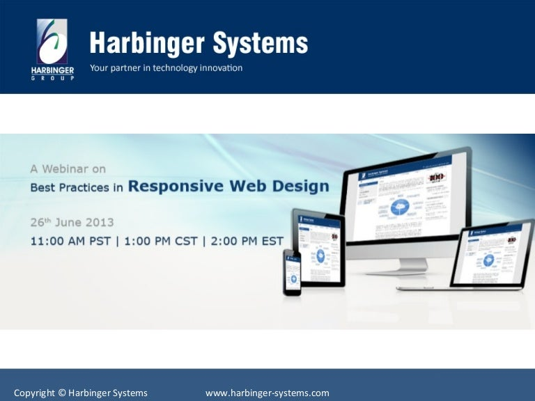 Best Practices In Responsive Web Design Webinar