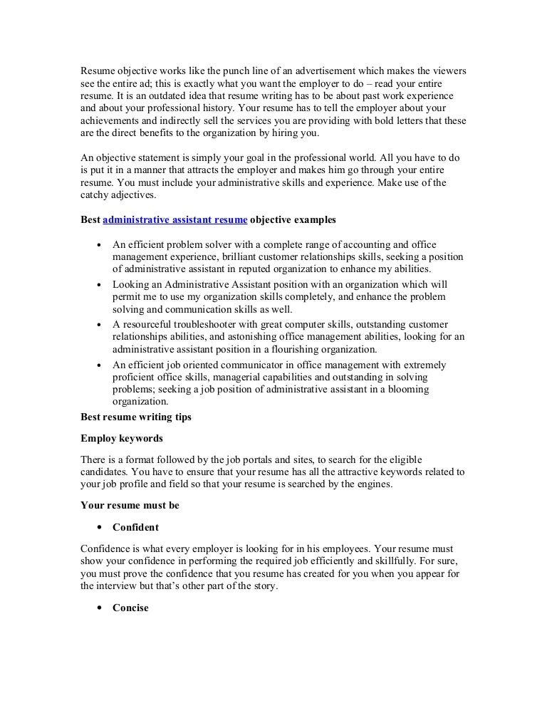 Accounting Associate Resume Objective Example Free Sample Cover