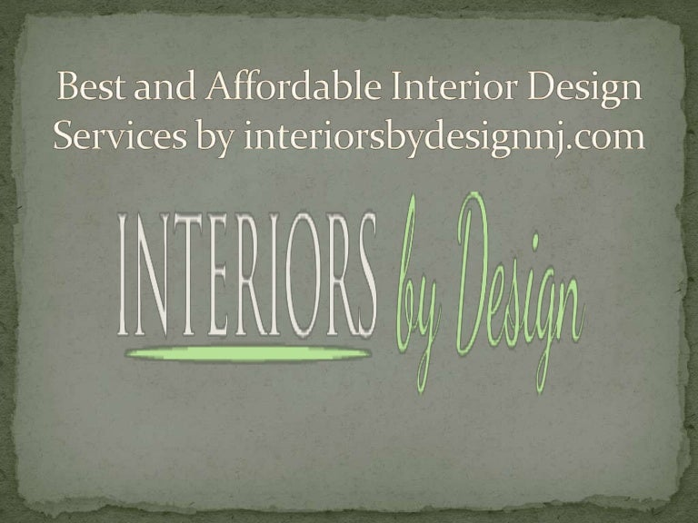 Best and affordable interior design services - Affordable interior design services ...